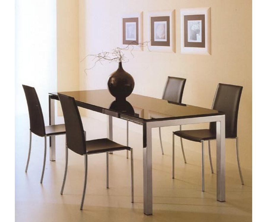 Martana Dining & Office Glass Table