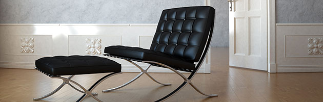 Classic Design Production Barcelona Chair Mies van der Rohe