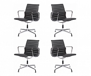 4 x Aluminum Group Management Chair